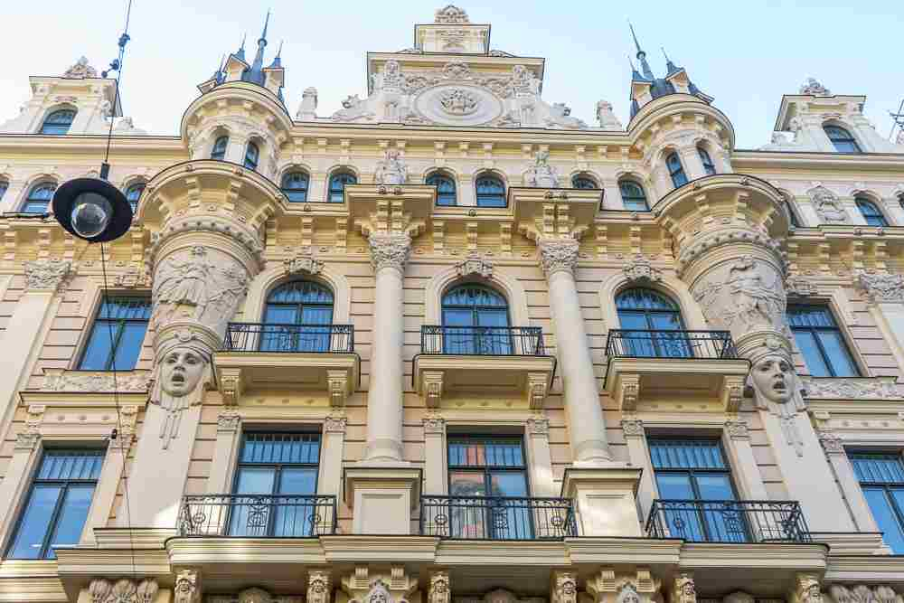Best cities to see Art Nouveau architecture: Riga is undoubtedly the best city in the world to see Art Nouveau architecture and there are so many great examples that prove this.