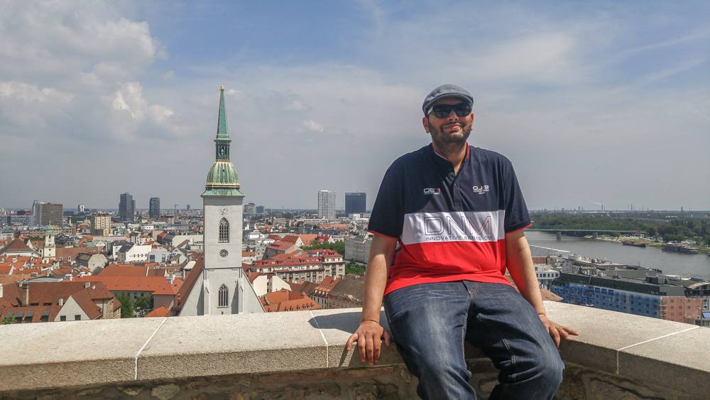 What to do in Bratislava: The Bratislava Castle offers wonderful panoramic views of the city and the Danube river, and is one of the best things to do in Bratislava.