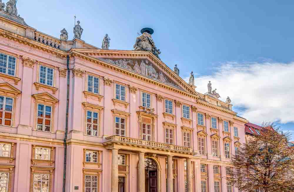 What to do in Bratislava: The majestic Primate's Palace is one of the best things to see when sightseeing in Bratislava.