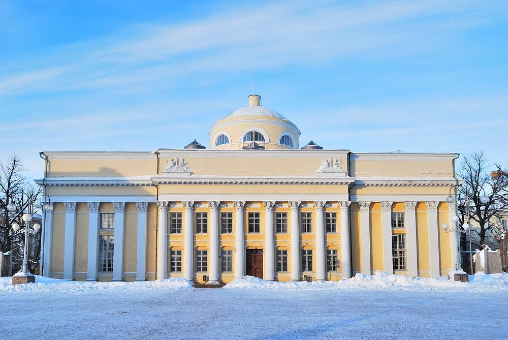 The National Library of Finland is one of the must-see attractions on this free self-guided Helsinki walking tour.