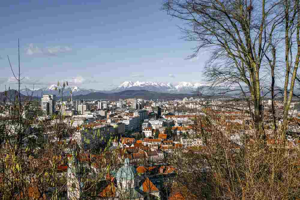 What to do in Ljubljana: The Ljubljana Castle offers sweeping panoramic views of the city.
