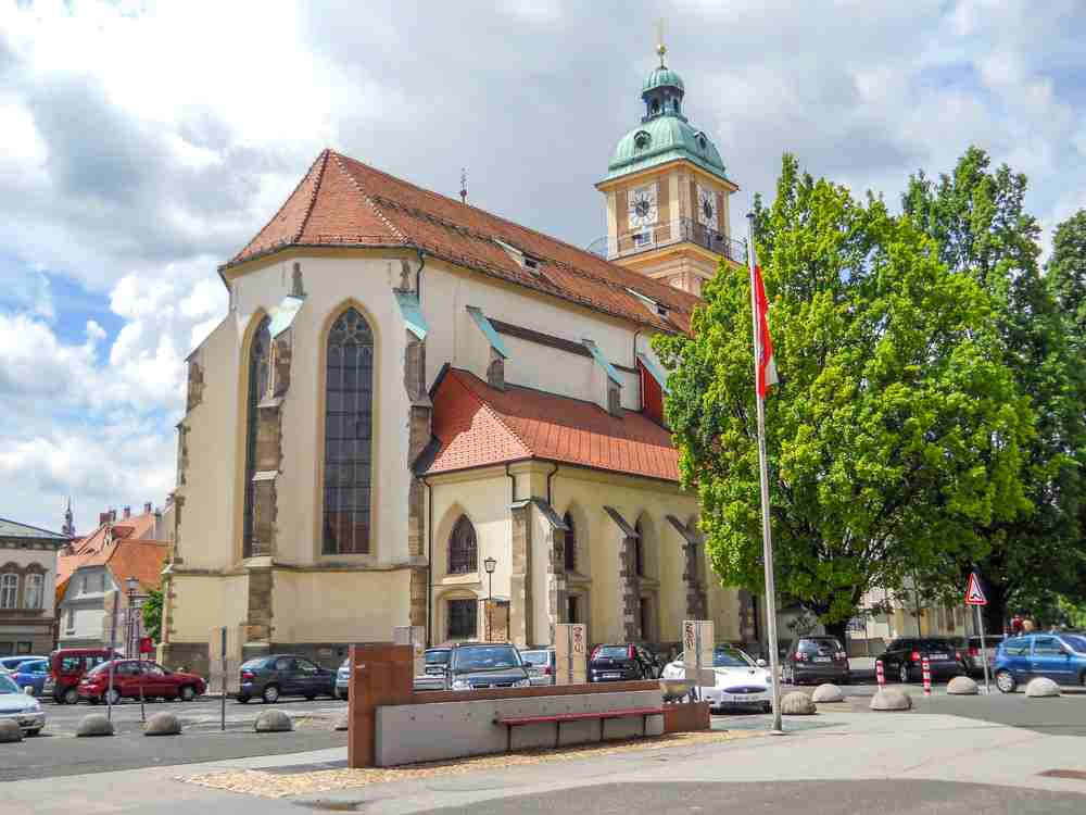 Must-see attractions in Maribor: The beautiful Maribor Cathedral is one of the best places to visit in Maribor.