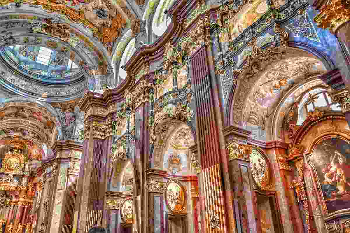 Make sure to marvel at the opulence of Baroque architecture on your travels to Europe.