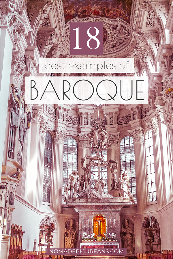 Do you enjoy architecture? Explore the 18 best examples of Baroque architecture in Europe as recommended by travel bloggers. #europedestinations #travel