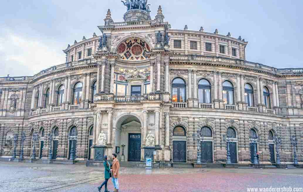 Dresden is a good example of a city with predominantly German Baroque architecture.