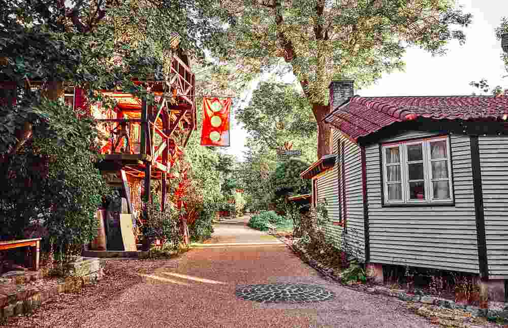 Taking a walk in Christiania is without a doubt one of the best things to do in Copenhagen on a budget. C: badahos / shutterstock.com