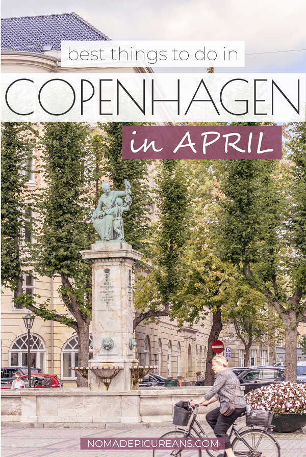 Traveling to Copenhagen in April? Read everything about the weather, what to pack, where to stay, and what to do. Includes the best events in town. #europedestinations #traveldestinations #denmark