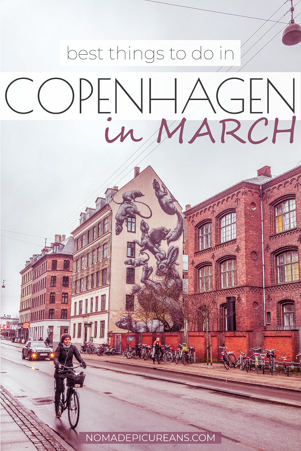 Traveling to Copenhagen in March? Read everything about the weather, what to pack, where to stay, and what to do. Includes the best events in town. #europedestinations #traveldestinations #denmark
