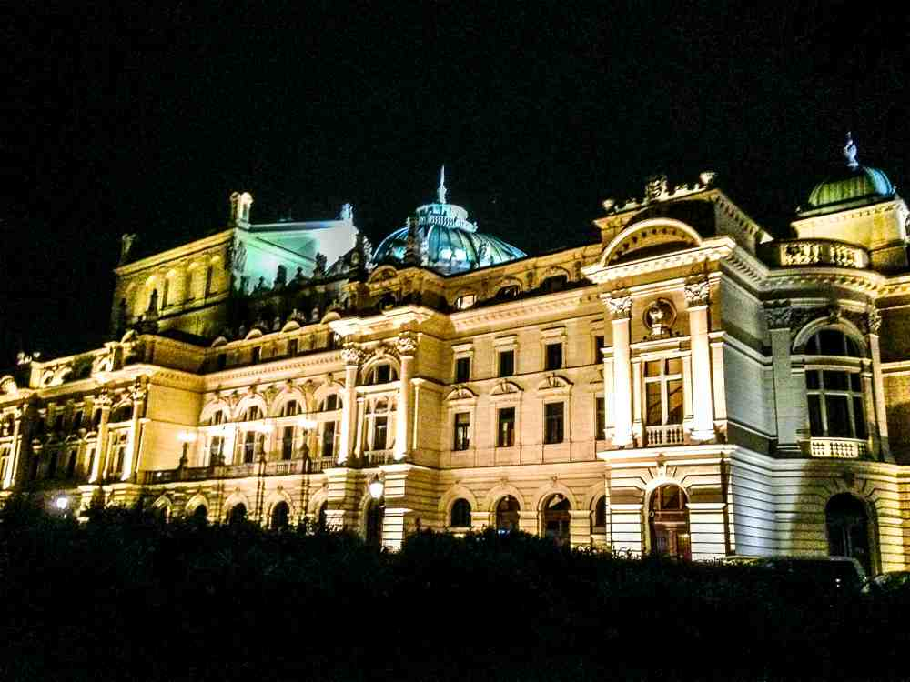 Krakow is a good place to see Baroque architecture in Europe.