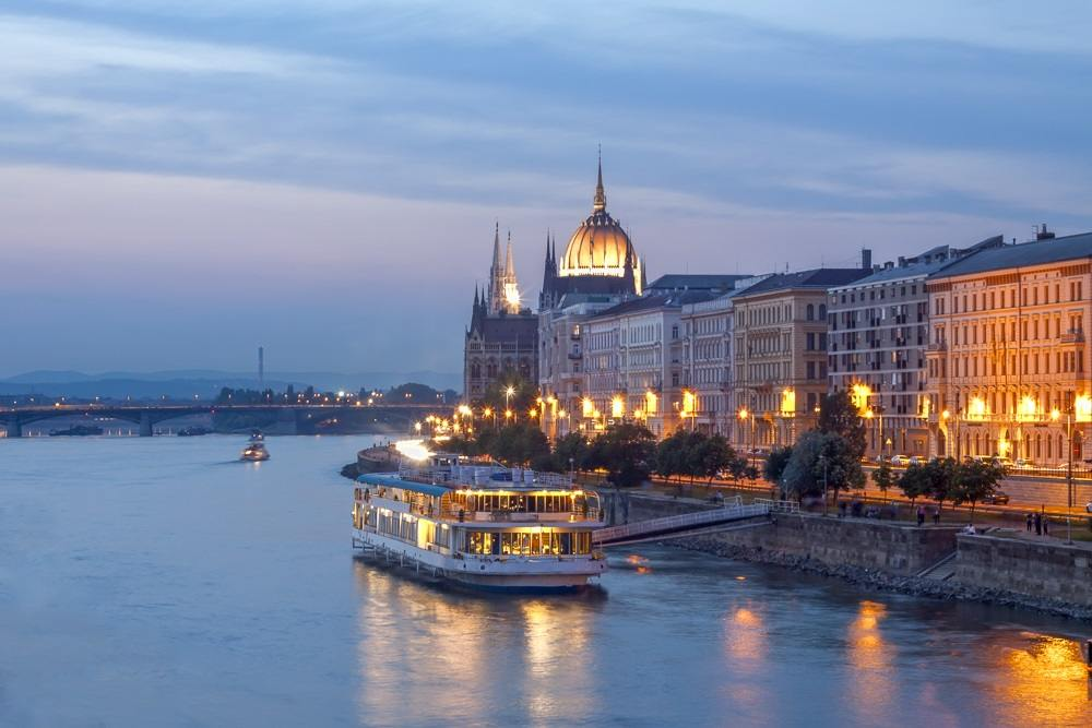 What to do in Budapest: A Danube River Cruise is one of the best things to do when spending 2 days in Budapest.