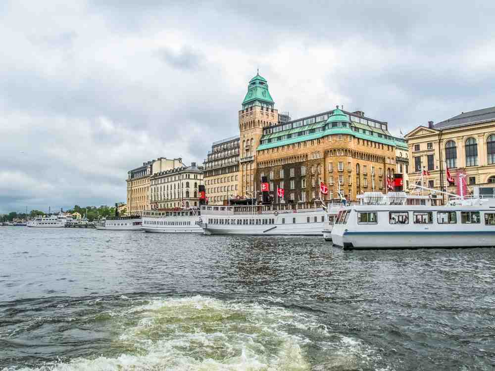 What to do in Stockholm: The Royal Canal Tour takes you around some of Stockholm's best sights.