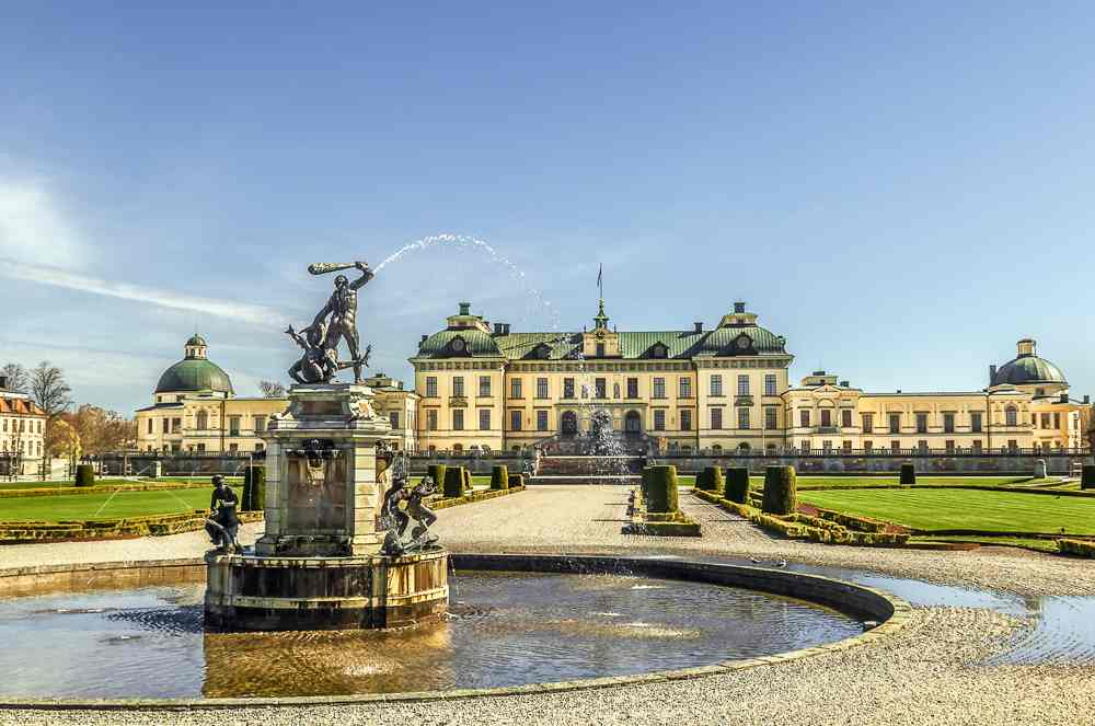 Day Trip from Stockholm: The wonderful Drottningholm Palace makes for a perfect little day trip from Stockholm.