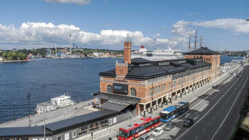 What to see in Stockholm: The world-class Fotografiska Museum is one of the best museums in Stockholm and one of the best places to visit when spending 3 days in Stockholm.