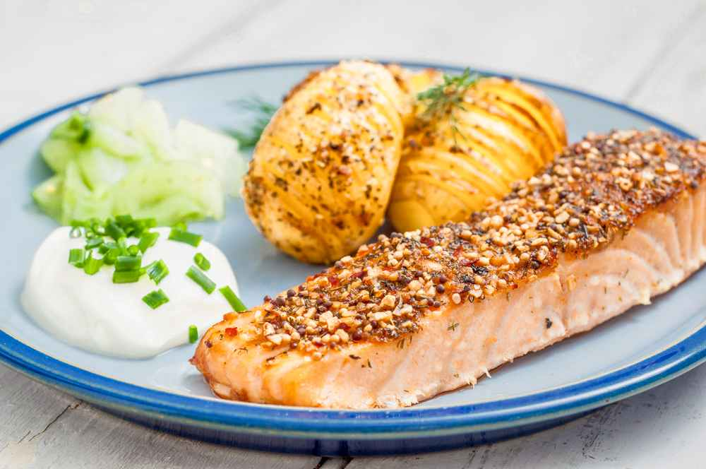 What to eat in Stockholm: Smoked salmon is one of the delicious Swedish foods you must try during your three days in Stockholm.