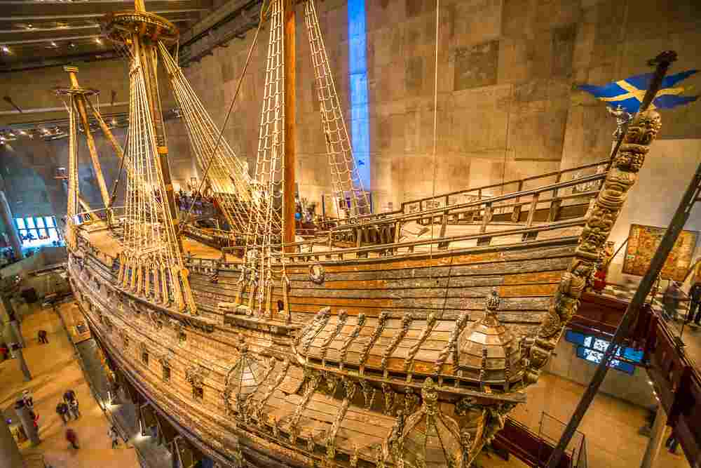 What to do in Stockholm: The brilliantly restored Vasa warship at the Vasa Museum is one of the must-see sights when spending 72 hours in Stockholm. C: Matej Kastelic/shutterstock.com