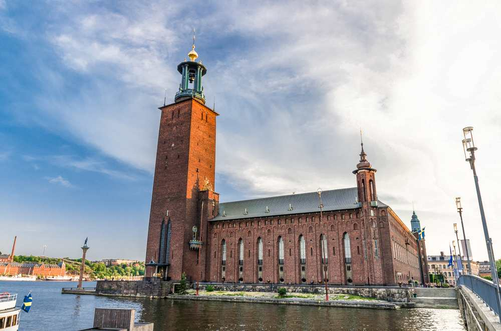 What to see in Stockholm: No free walking tour of Stockholm would be complete without seeing the Stockholm City Hall.