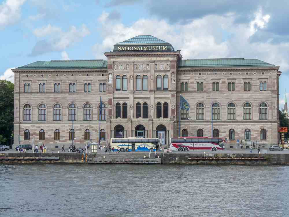 What to see in Stockholm: The excellent National Museum is home to some amazing works of art and is one of the highlights of this free Stockholm walking tour.