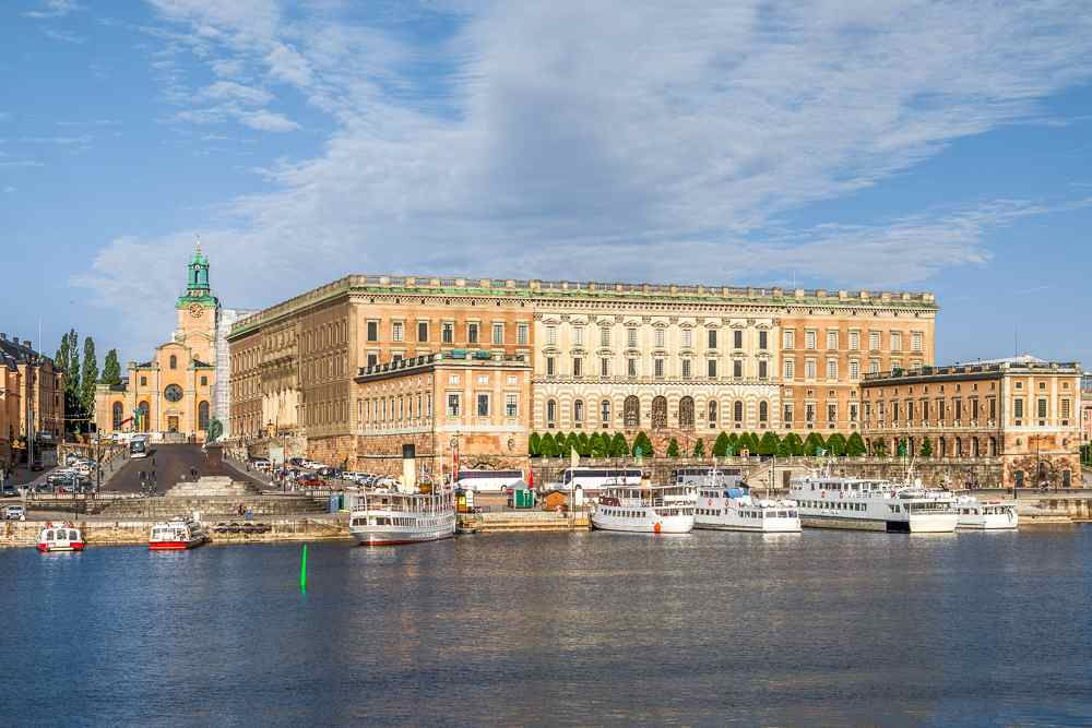 Free Self-Guided Stockholm Walking Tour: The Royal Palace is one of the must-see attractions in Stockholm and one of the highlights of this free self-guided walking tour.