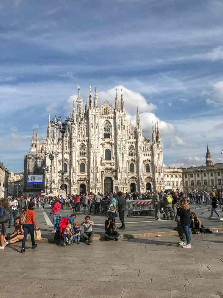 Milan is one of the best places in Europe to hunt for Gothic architecture.