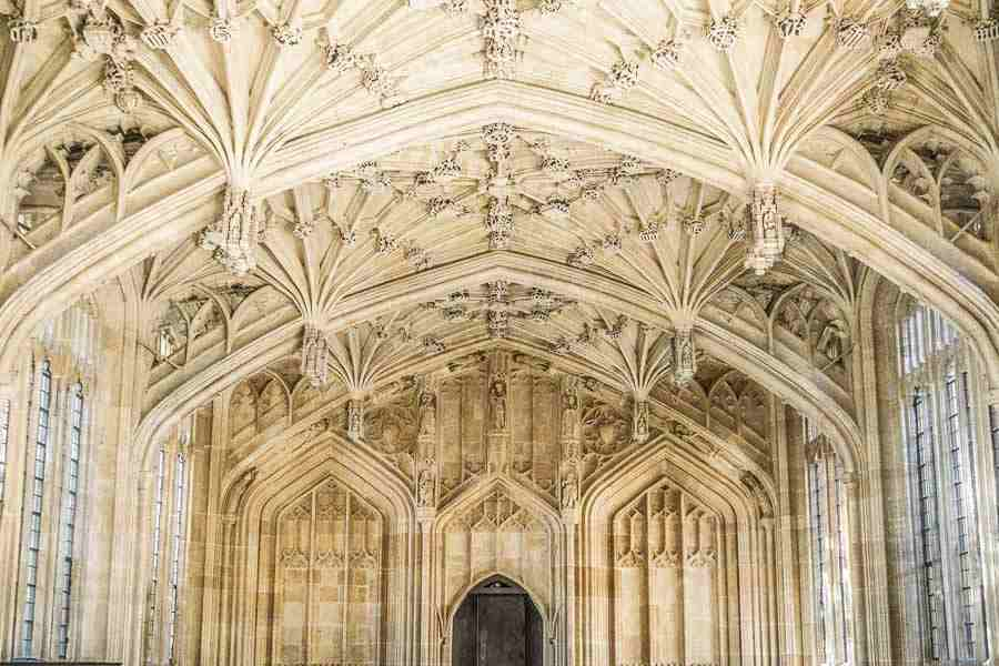 Oxford is one of the best places in Europe to hunt for Gothic architecture.