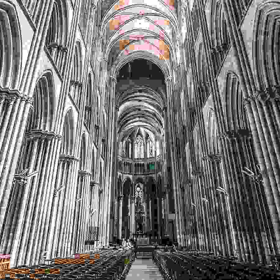 Rouen is one of the best places in Europe to hunt for Gothic architecture.
