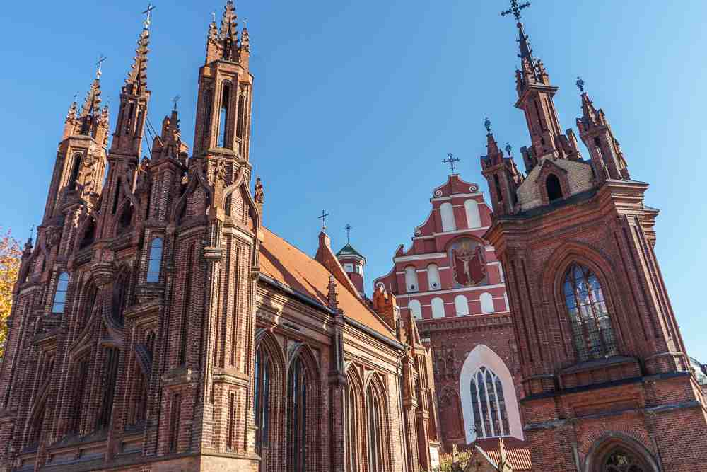Vilnius is one of the best places in Europe to hunt for Gothic architecture.