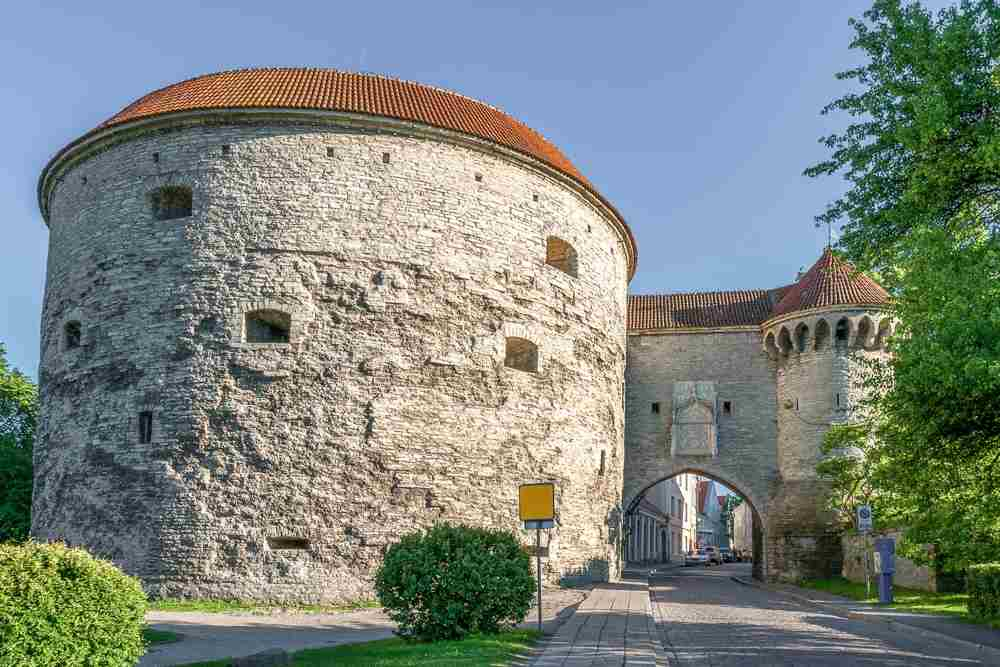 Best things to see in Tallinn: The chunky Fat Margaret's Tower is one of the remaining towers of the Old Town's fortifications and is one of the most well-known landmarks in Tallinn.