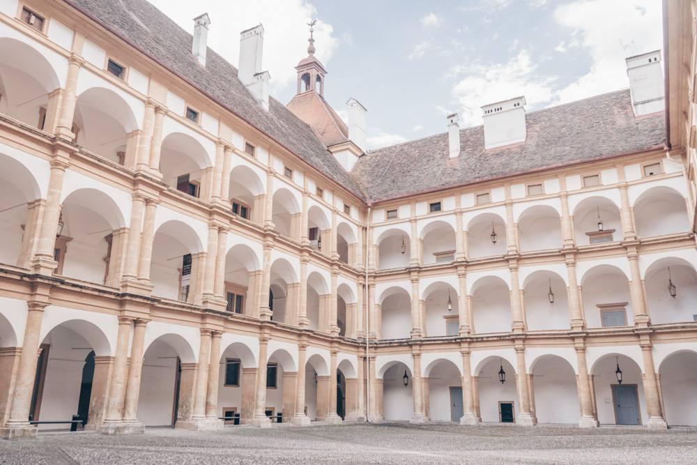 A Renaissance courtyard in Graz.