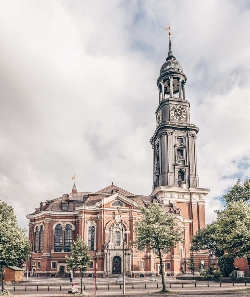 Things to do in Hamburg: View of the St. Michael's Church, one of the main churches in Hamburg.