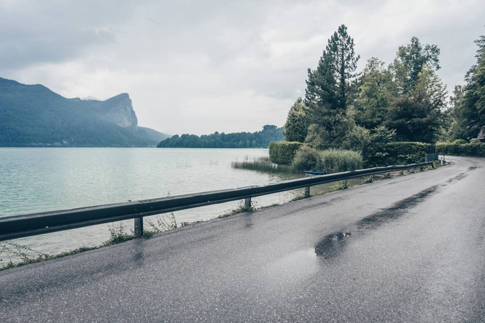 Mondsee lake is a Sound of Music location outside Salzburg.