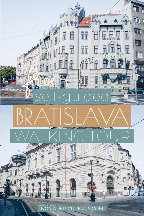 Free Self Guided Bratislava Walking Tour: Highlights