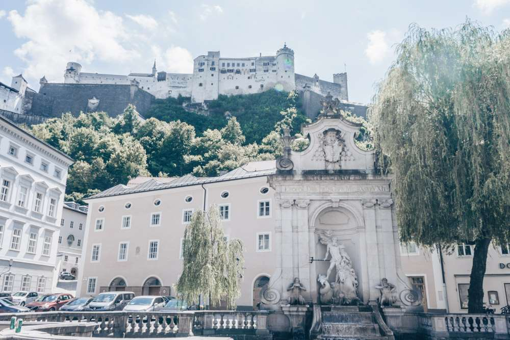 Kapitelschwemme is one of the filming locations of Sound of Music in Salzburg.