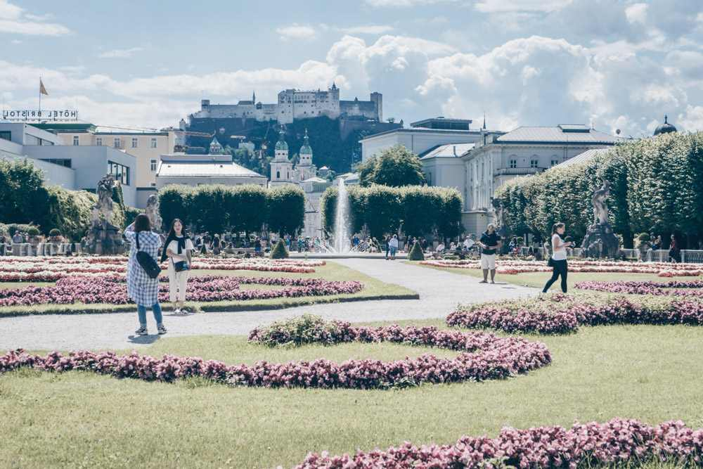 The Mirabell gardens are only one of the many Sound of Music filming locations on this tour.