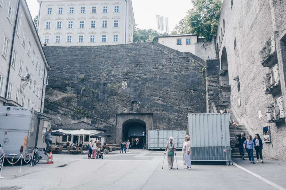 Toscaninihof is one of the stops on this self-guided Sound of Music walking tour in Salzburg.