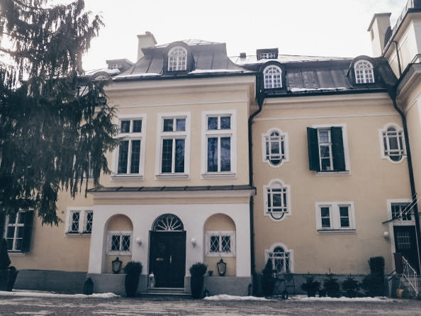 Villa Trapp is where the family lived in real life. (C: Luckyprof).