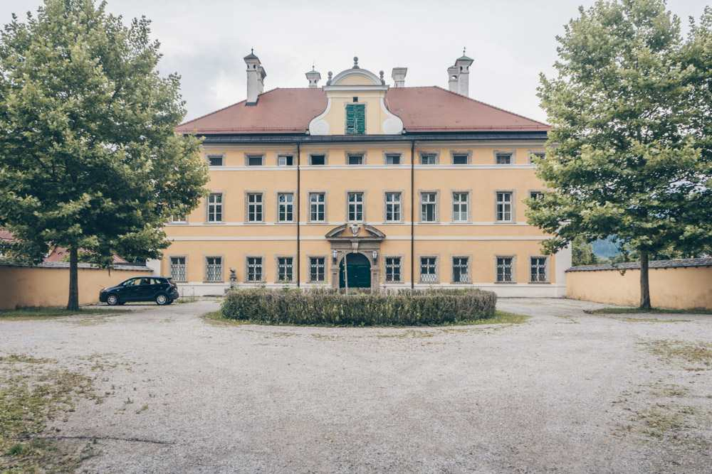 Schloss Frohnburg is one of many Sound of Music locations outside Salzburg.