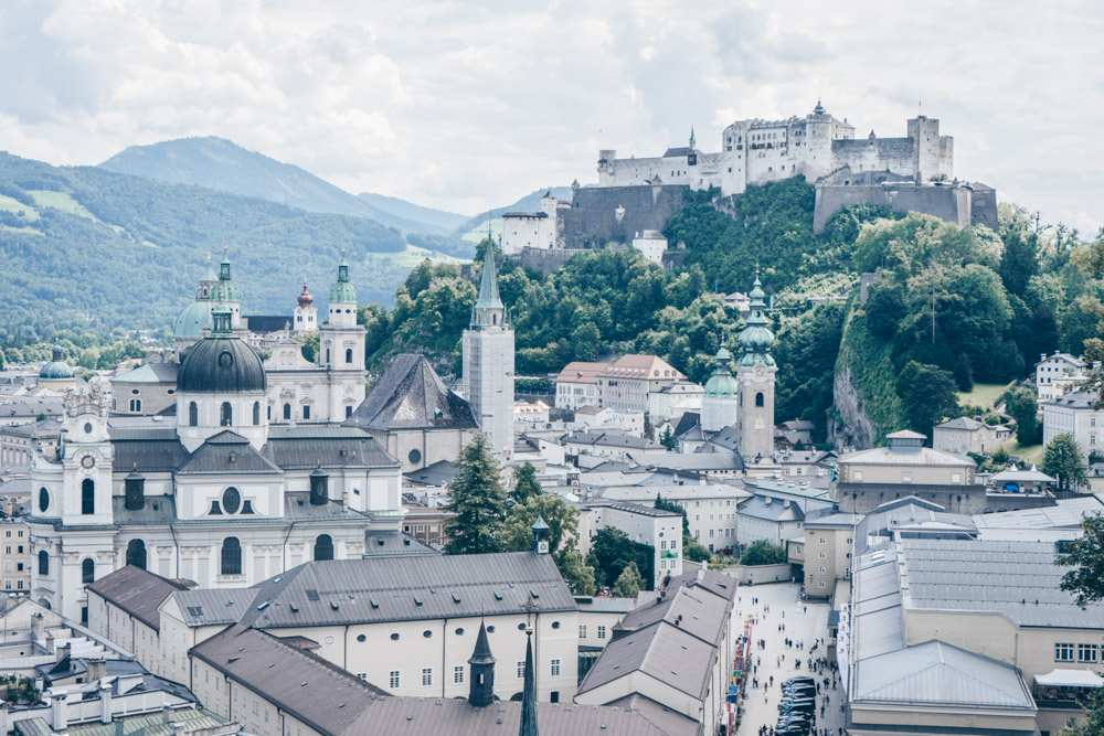 The view from Winkler Terrace in Salzburg is nothing short of spectacular.