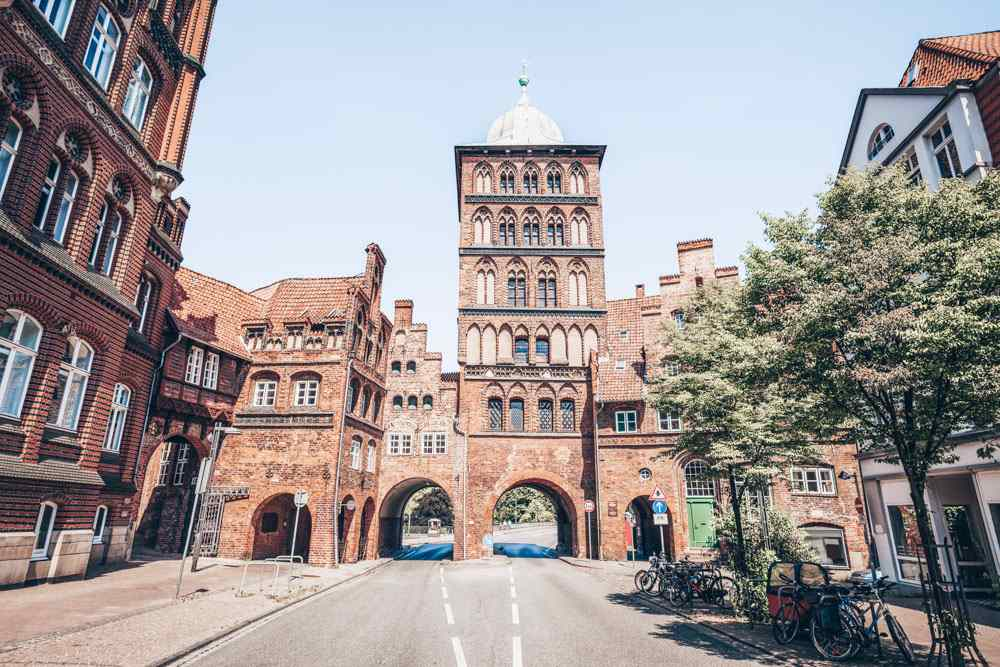 Things to do in Lübeck - Burgtor is a late Gothic style gate in the Old Town of Lübeck.