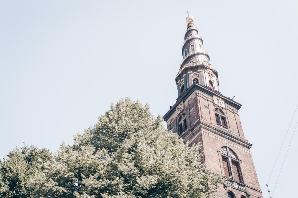 What to do in Copenhagen: The gilded spire of the famous Church of Our Saviour