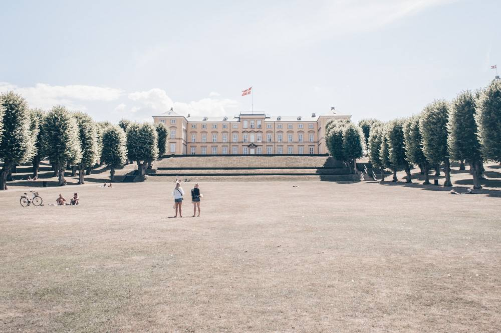 Places to visit in Copenhagen: The ocher-colored Frederiksberg Palace