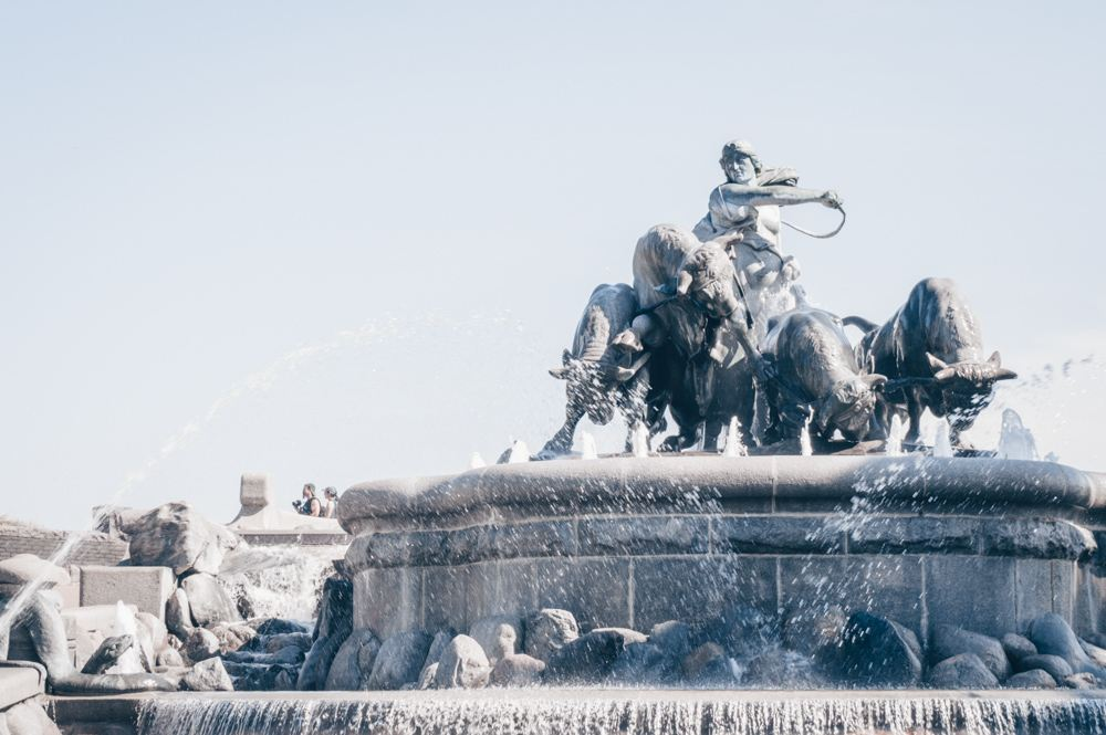 Weekend in Copenhagen: The impressive Gefion Fountain depicting the Norse goddess Gefion