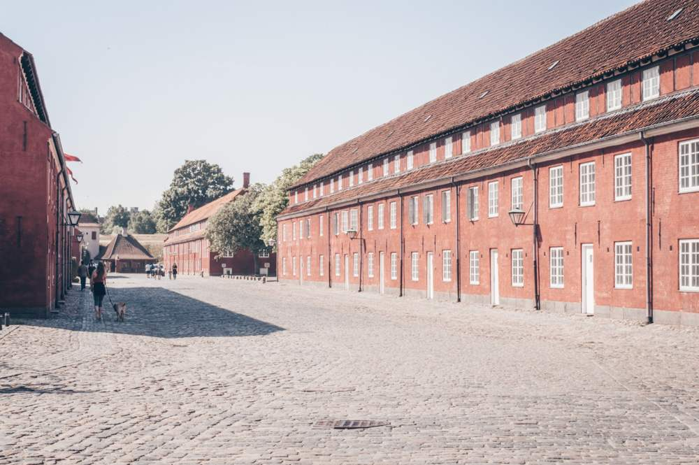 Things to see in Copenhagen: Military barracks inside Kastellet fortress