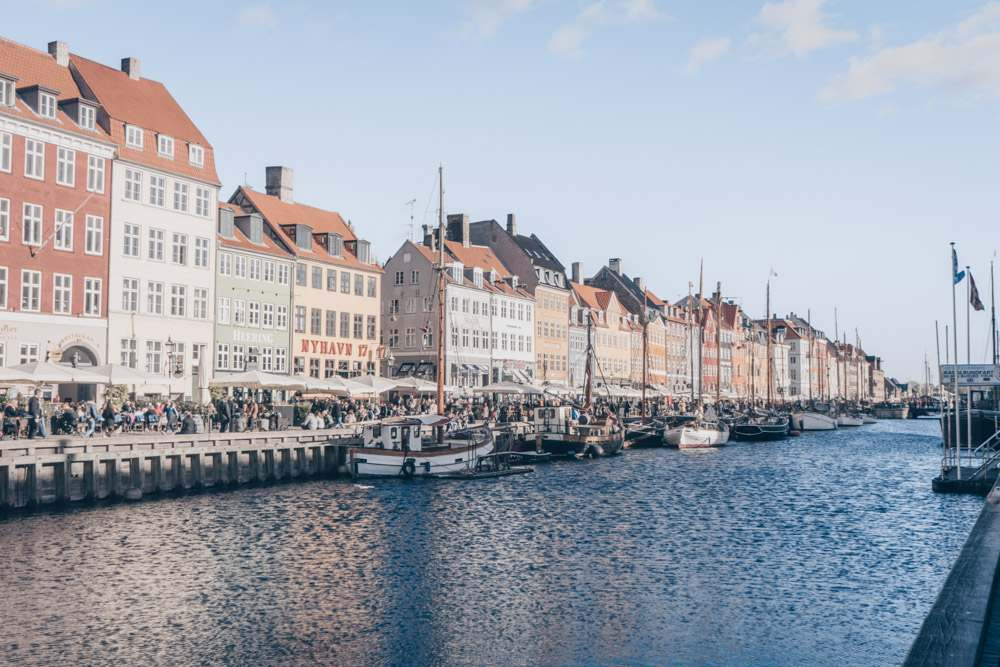 Weekend in Copenhagen: Pastel-colored townhouses and sailing vessels along Nyhavn