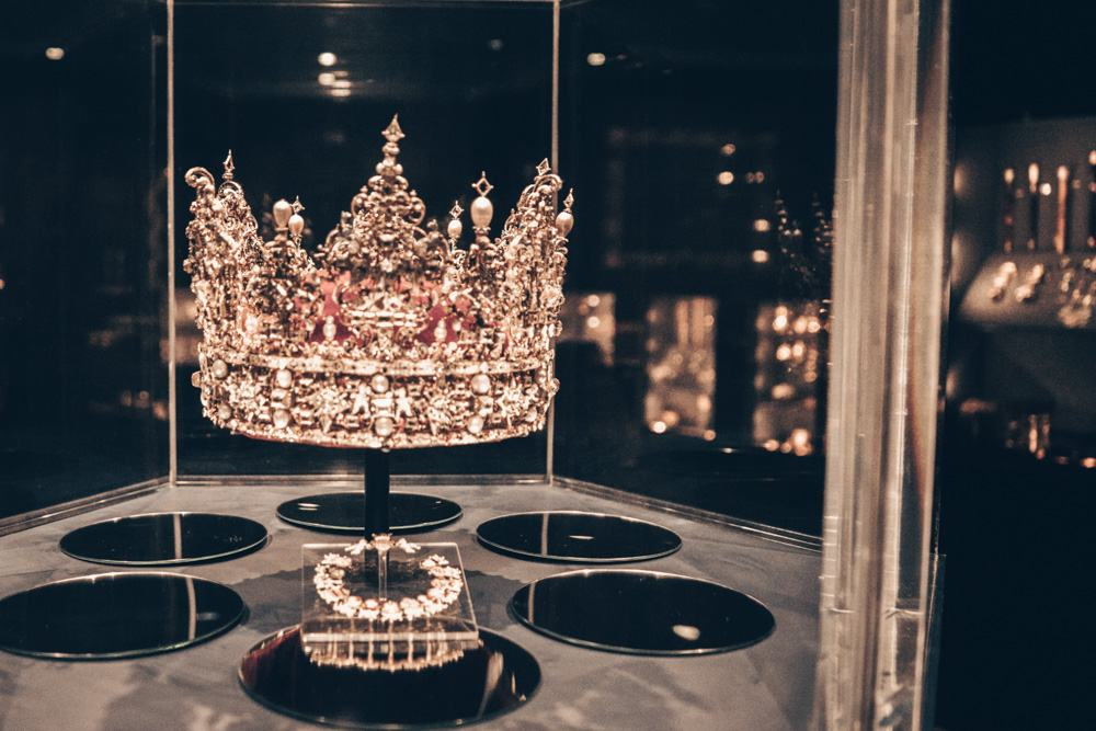 72 Hours in Copenhagen: The jewel-encrusted crown in the treasury of Rosenborg Castle