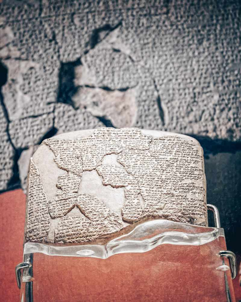 Things to see in Istanbul: The Treaty of Kadesh, the world's oldest peace treaty.