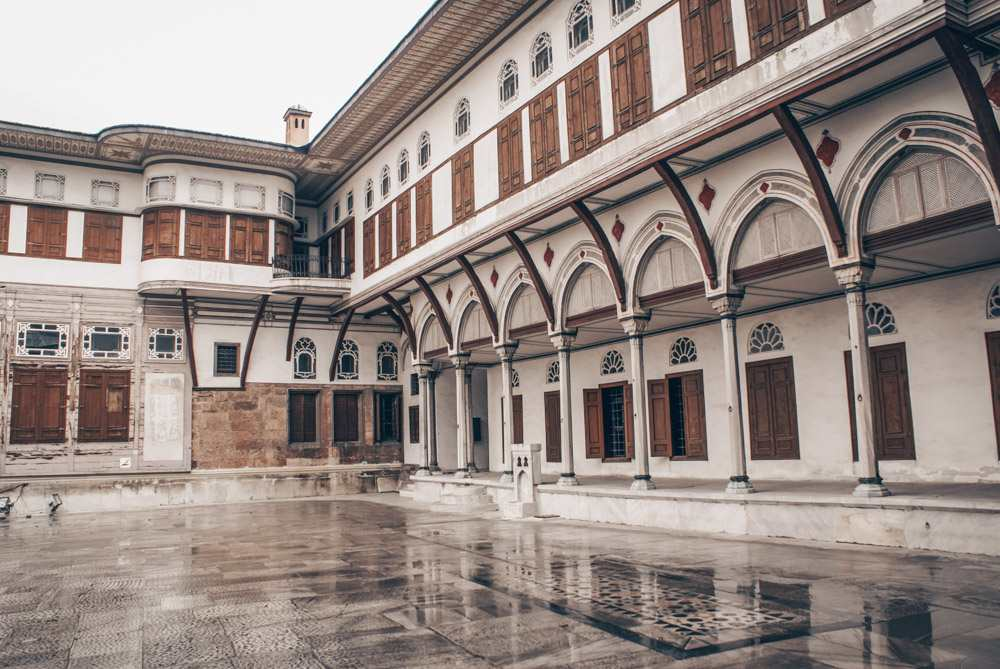 Topkapi Palace Harem: The charming Courtyard of the Favorites