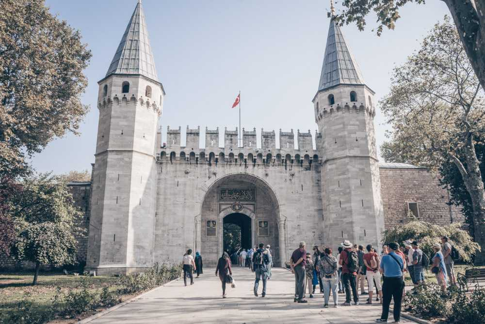 Weekend in Istanbul: The turreted Galte of Salutations at the Topkapi Palace