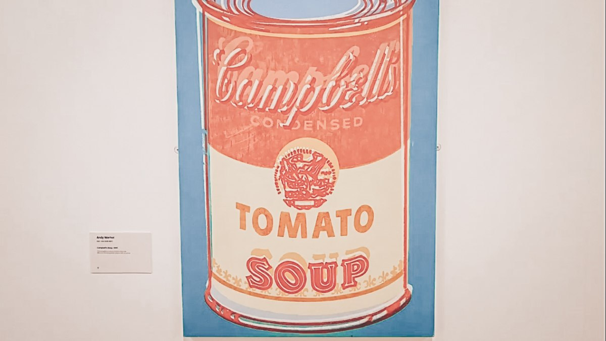 Things to do in Lisbon: Andy Warhol's Campbell's Soup Cans at the Berardo Collection Museum.