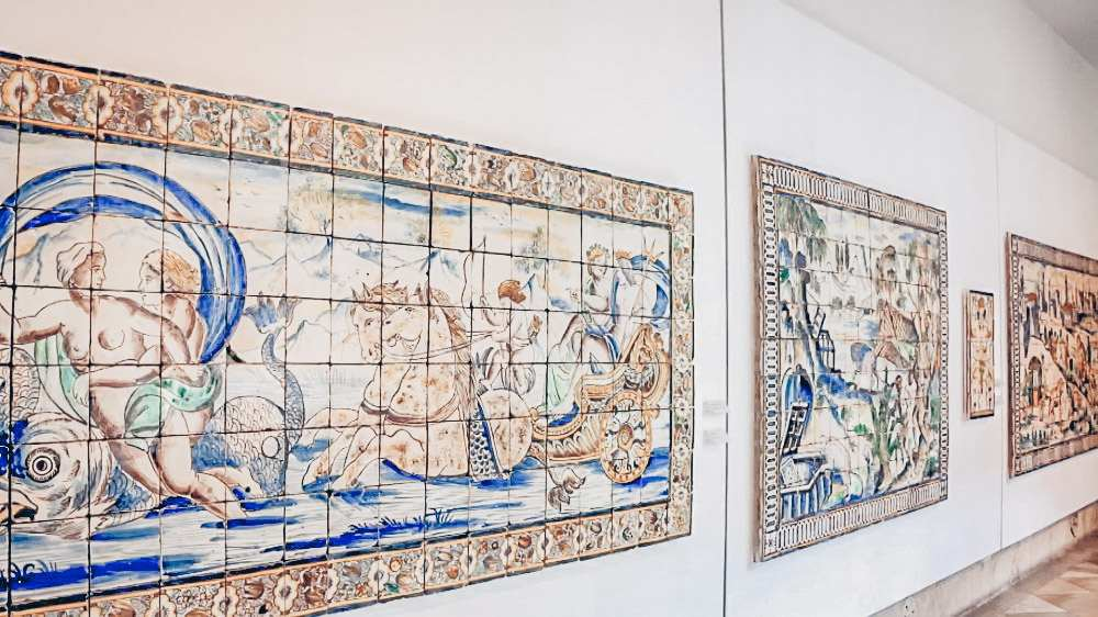 72 Hours in Lisbon: Azulejo panels on display at the National Tile Museum