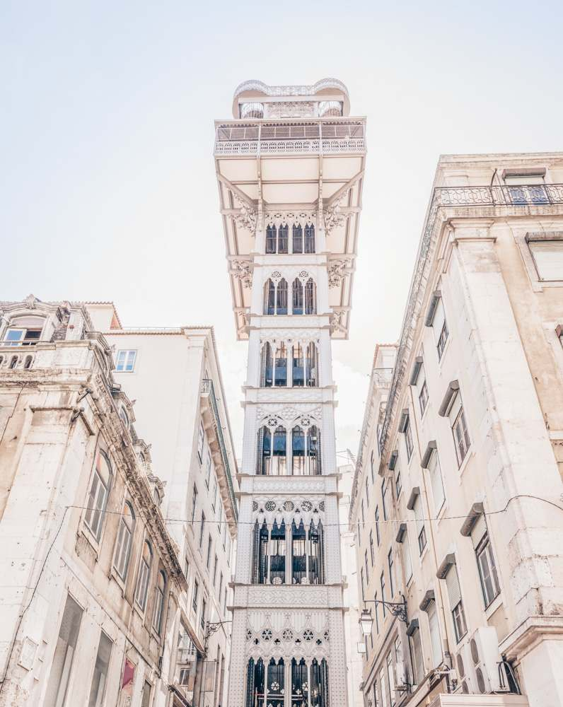 3 Days in Lisbon: The Neo-Gothic style Santa Justa Lift